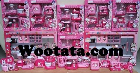 Jual Mainan Kitchen Set Anak Hello Kitty Terlen