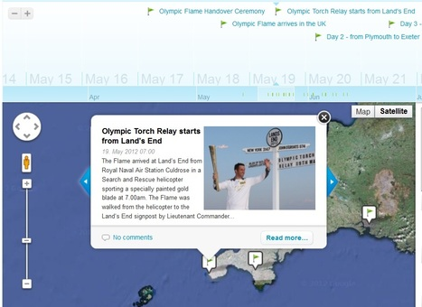 Stories Displayed on Maps | History and Social Studies Education | Scoop.it