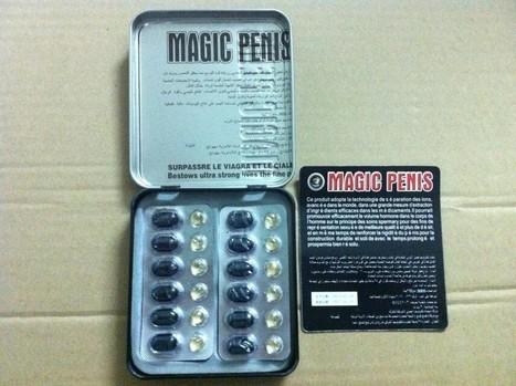 Magic Penis Enlarger Sex Tablet Male Sex Enhanc