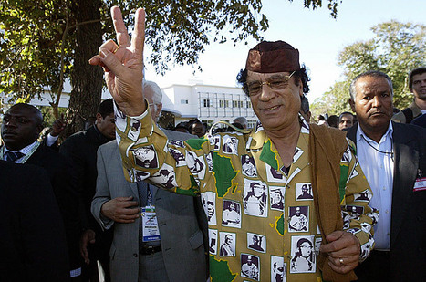 Gaddafi Fashion: The Emperor Had Some Crazy Clothes | Epic pics | Scoop.it