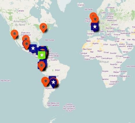 Carte interactive dédiée à la Cumbia réalisée sur OpenStreetMap par la médiathèque de Castelnaudary | Musique en bibliothèque | Scoop.it