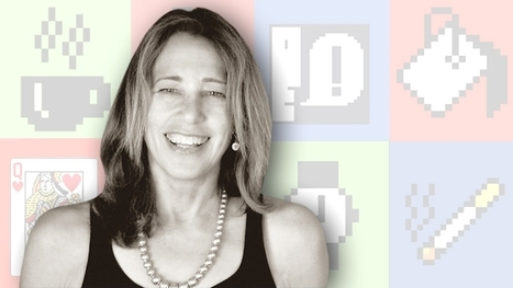 Iconic Icons Susan Kare, the former Apple designer behind the 'Happy Mac' icon, discusses a well-designed life | Design | Scoop.it