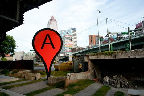 Street Art et autres dérives de Google Map et Google Earth. | Street Arts | Scoop.it