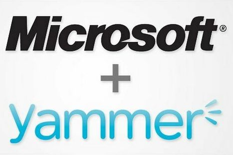 Microsoft To Start Integrating Yammer Into Office 365 And SharePoint This Summer, Deeper Connections Coming This Fall | Microsoft | Scoop.it