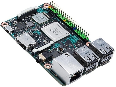 The Asus Tinker Board is a powerful Raspberry Pi rival that plays 4K video | Raspberry Pi | Scoop.it