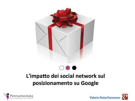 L'impatto dei social network sul posizionamento su Google | All about Social Media | Scoop.it