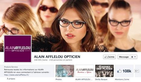 Augmenter la notoriété de sa marque et la fréquentation de son point de vente avec Facebook ? Les cas Afflelou et Kusmi Tea | Les Réseaux Sociaux & Webmarketing | fashion retail visual merchandising | Scoop.it