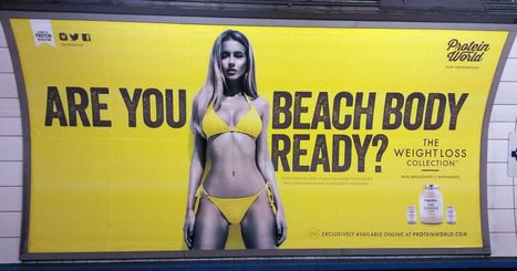 London mayor bans Tube ads that promote unhealthy body image | A2 Media Studies | Scoop.it