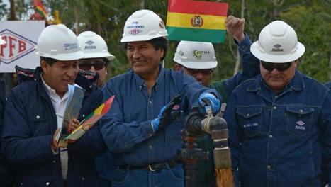 Découverte historique d'un important puits de pétrole | Chroniques boliviennes | Scoop.it