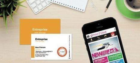 Lancement d'une plateforme de création de cartes de visite interactives | Ubleam | Scoop.it
