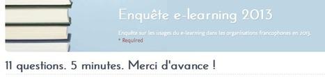 L'enquête eLearning 2013 : Une 4ème édition qui va apporter des surprises ! | CAFEL + e-Learning | Scoop.it