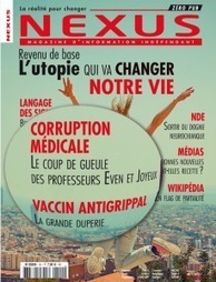 Revenu de base : Notre vie va changer ! A la Une du numéro 101 du magazine Nexus | ISR, DD et Responsabilité Sociétale des Entreprises | Scoop.it