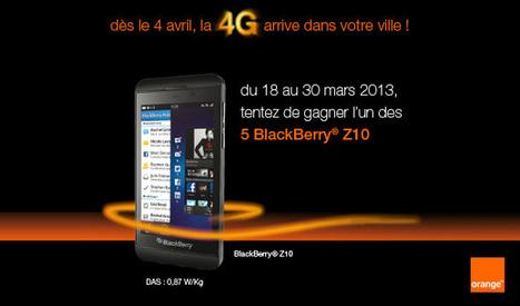 Gagnez des BlackBerry Z10 avec Foursquare | Addicts à Blackberry 10 | Scoop.it