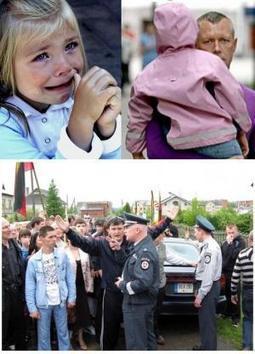 Des lituaniens montent la garde 24/24h pour protéger unefillette | JUSTICE : Droits des Enfants | Scoop.it