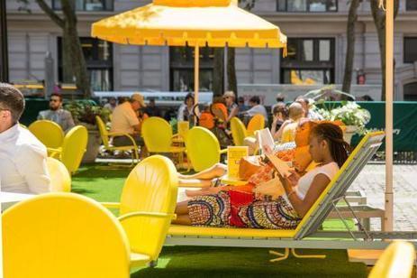 Des bibliothèques en plein air à New York, Paris et Tel Aviv - Le Parisien | Chocolat et gourmandise | Scoop.it