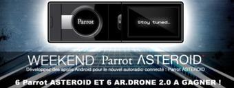 BeMyApp WeekEnd spécial Parrot ASTEROID 11- 13 mai 2012 @ Paris   Radio 2.0 (En & Fr)   Scoop.it