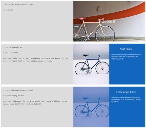 Deckset - Pour faire des slides rapidement et sans douleur | Les outils d'HG Sempai | Scoop.it