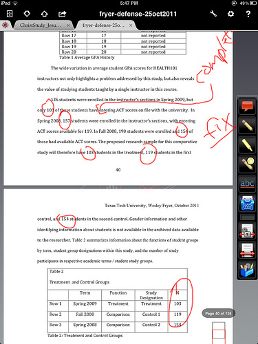 Moving at the Speed of Creativity - Annotate, Correct and Edit Documents on Your iPad | iPad Apps for Education | Scoop.it