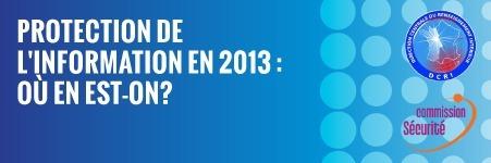 Protection de l'information le 20 Mars 2013 dès 18h45 à La Cantine Toulouse | La Cantine Toulouse | Scoop.it