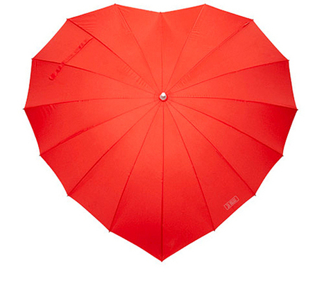 Heart Umbrella | Accessories | Style | What Surrounds You | Scoop.it