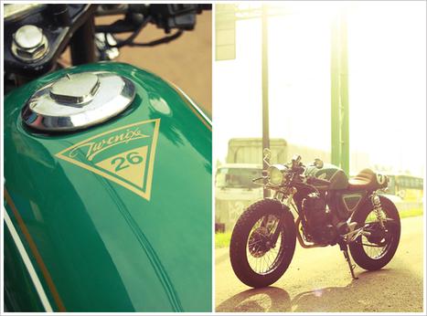 Honda GL200 Café Racer - 'Dolores' | FASHION & LIFESTYLE! | Scoop.it