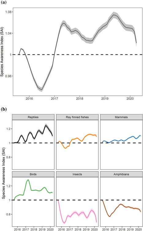 Les pages consultées sur Wikipédia révèlent une augmentation de la sensibilisation à la biodiversité | Histoires Naturelles | Scoop.it