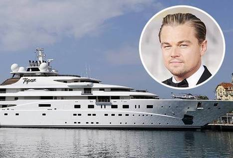 Leo DiCaprio Gives Up Oil Sheikh's Super-Yacht to Walk in NYC #ClimateMarch Parade | Politics and Business | Scoop.it