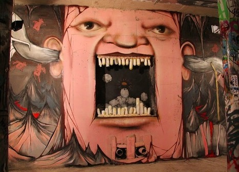 Ten Amazing Faces Painted on Buildings in Russia | Technology in Art And Education | Scoop.it