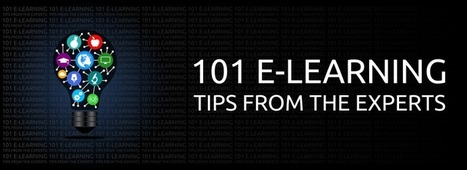 101 e-Learning Tips from the Experts   Best Online Universities, LLC   Ana Cristina Pratas - E-Portfolio   Scoop.it