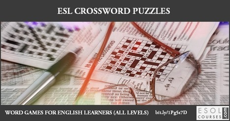 Online Crossword Puzzles for English Learners | English Word Power | Scoop.it