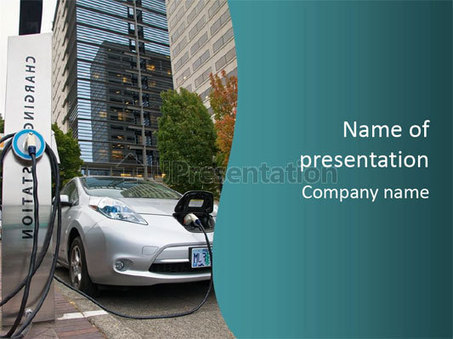 Northwest Electric Electric Car Powerpoint Temp
