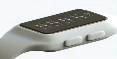 Presenta reloj inteligente para personas con disCapacidad visual | Diversifíjate | Scoop.it