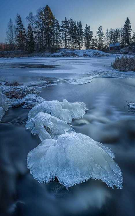 The Winter River by<br/>Jari Johnsson | My Photo | Scoop.it