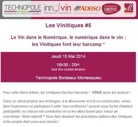 Sharebordeaux | La 5ème édition des Vinitiques | Oeno-digital | Scoop.it