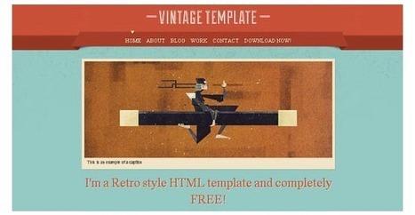 30+ HTML5 and CSS3 Web Design Templates | 7plusDezine | Web & Graphic Design | Scoop.it