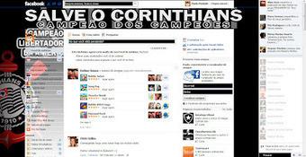 Tema pra Facebook - Corinthians Campeão da Libertadores 1 | Themes for Facebook | Scoop.it