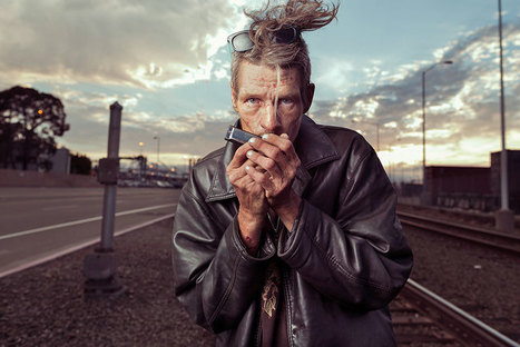 Photographer Shows Homeless In A New Light To Remind Us They're People Too | ART  | Conceptual Photography & Fine Art | Scoop.it