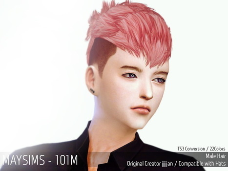May Sims May Hairstyle 101m Sims 4 Downloads