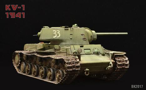 KV-1 Heavy Cast Turret 1941 | Military Miniatures H.Q. | Scoop.it