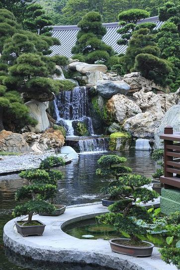Water Features: Streams | A Love of Japanese Gardens | Scoop.it