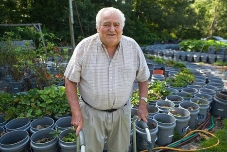 Bucket crops: Mississippi man takes container gardening to another level - Memphis Commercial Appeal | Engineering | Scoop.it