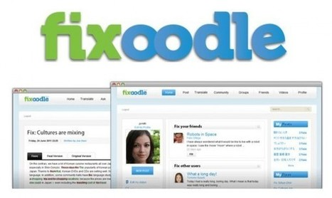 fixoodle – Una red social creada para aprender idiomas.- | ESOL for Adults | Scoop.it