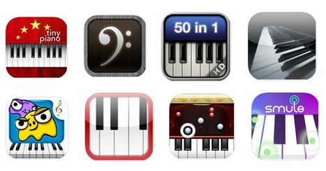 10 Great iPad Apps for Teaching and Learning Piano ~ Educational Technology and Mobile Learning | Edtech PK-12 | Scoop.it
