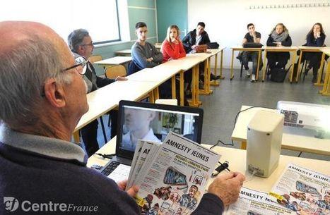 Société - Des étudiants de l'IUT de Moulins échangent avec Amnesty International sur le thème des réfugiés | On parle des IUT | Scoop.it