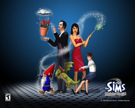 Amazon. Com: the sims: makin' magic expansion pack (pc cd) by.