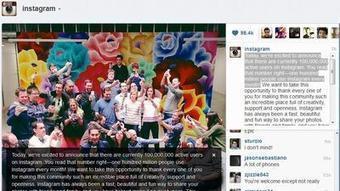 Instagram reaches social media milestone: 100 million active users - Los Angeles Times | Social Media Tips & News | Scoop.it