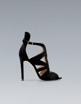 Chaussure A Talon Laniere