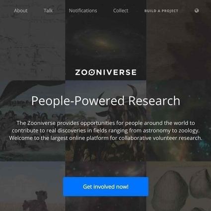 Zooniverse | Tecnología Educativa | Scoop.it