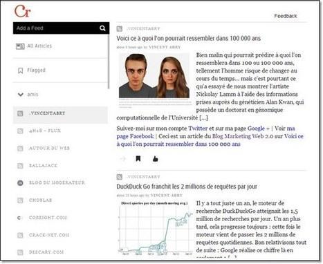 Pour remplacer googlereader : 6 Lecteurs de flux RSS | Veille, curation, IE, KM, E-réputation | Scoop.it