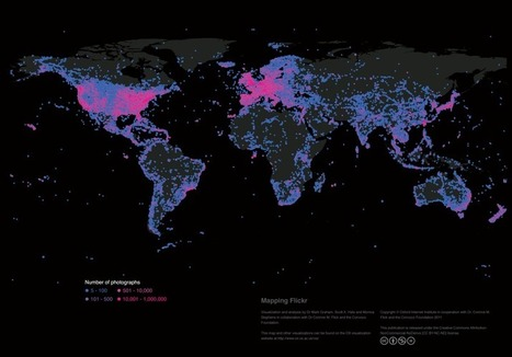 This Is the World on Flickr: A Photo Documentation Map | visual data | Scoop.it